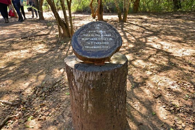 El cementerio del Fortín Boquerón se ha convertido en un sitio emblemático de la paz entre las naciones del Chaco. Foto: Gentileza.