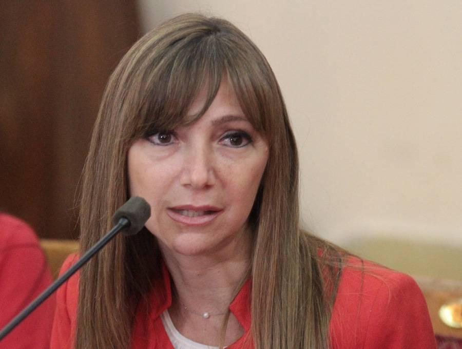 Carla Bacigalupo, ministra de Trabajo.
