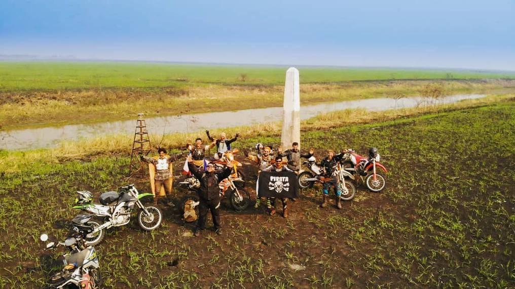 El desafío de motociclistas Hito Challenge 2021 Paraguay-Bolivia se realizará del 7 al 15 de agosto en un trayecto de 740 kilómetros. Foto: Gentileza.