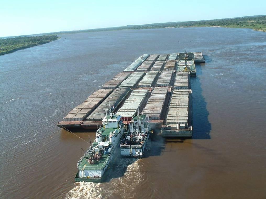 Hasta este fin de semana pasarán 78 barcazas. Foto: Archivo.
