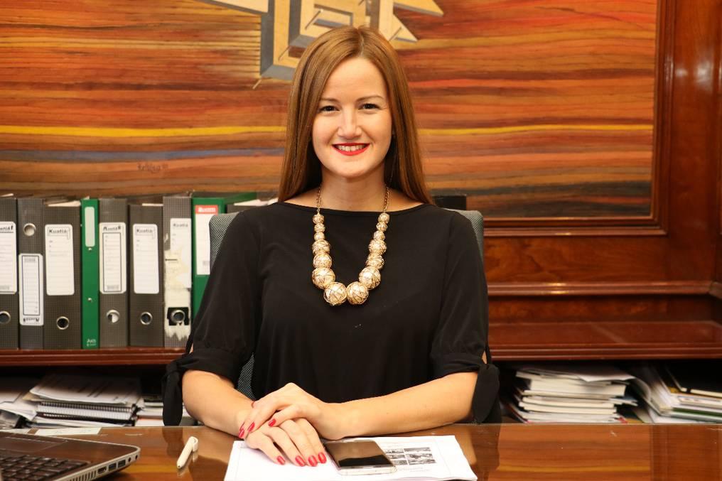 Soledad Núñez logró un destacado protagonismo, al haber sido una de las pocas mujeres jóvenes en liderar una secretaría de Estado orientada a generar soluciones sociales. Foto: Néstor Soto.