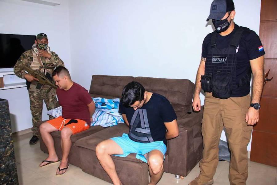 En los procedimientos fueron detenidos tres miembros del PCC.FOTO:GENTILEZA