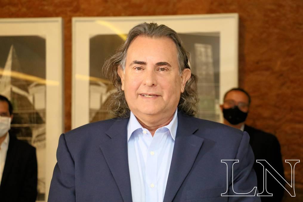 José Ortiz, empresario y uno de los accionistas de Cementos Concepción SAE. Foto: Néstor Soto.