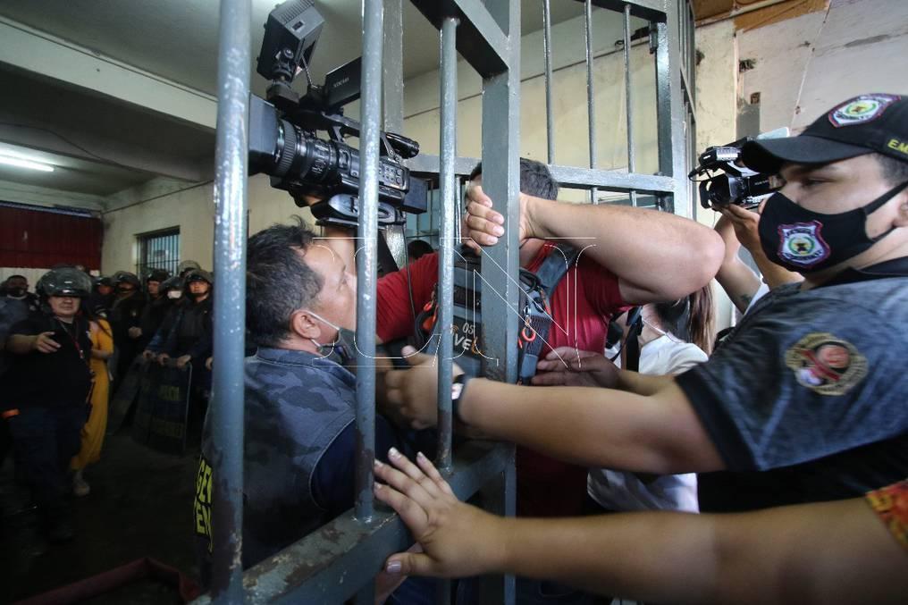 """Lamentó que ciertos actores políticos hayan aprovechado la crisis en Tacumbú para llevar """"agua hacia su molino"""". Foto: Néstor Soto."""