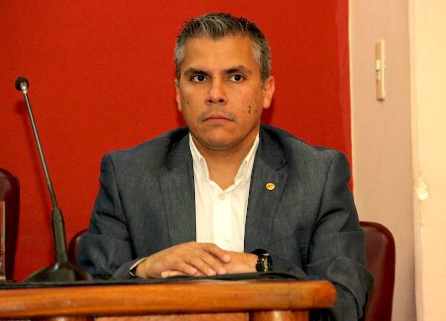Eduardo González, apoderado del Partido Colorado. Foto: Archivo