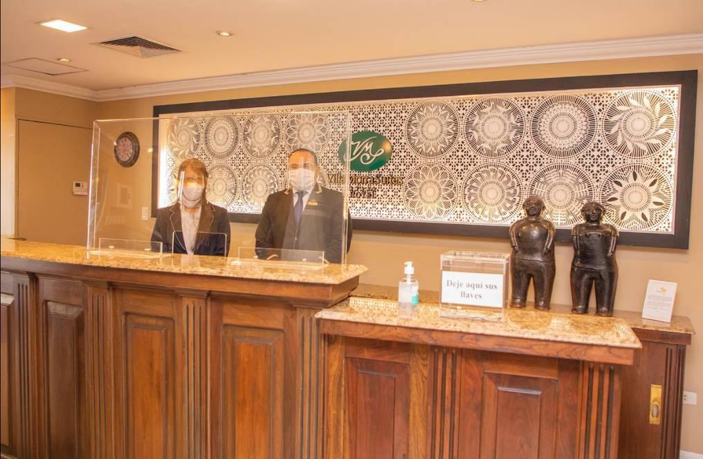 El hotel se ajustó a todos los protocolos sanitarios para recibir a los huéspedes. Foto: Gentileza.