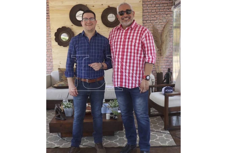 Guillermo Grance y Felipe Goroso.FOTO:PÁNFILO LEGUIZAMÓN
