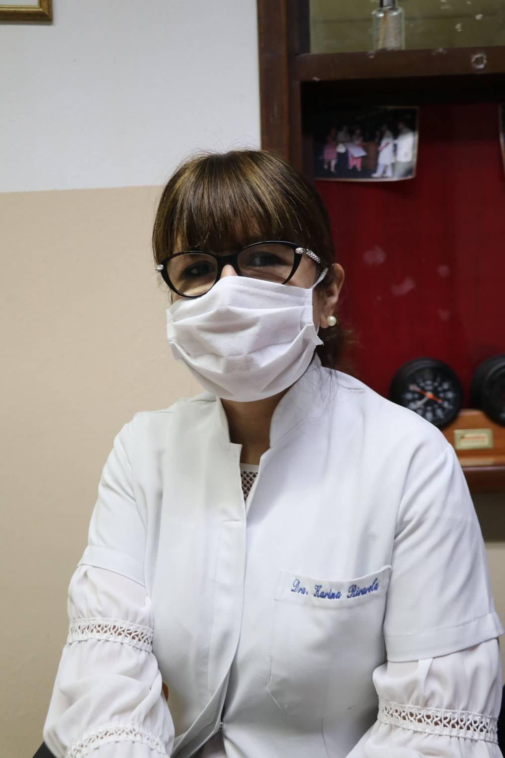 Dra. Karina Rivarola, jefa del Departamento Admisión Hospitalaria del Hospital de Clínicas. Foto: Gentileza.