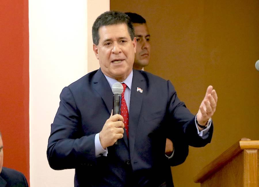 El líder de Honor Colorado, Horacio Cartes, afirmó también que la unidad colorada está mejor de lo que se dice.FOTO:ARCHIVO