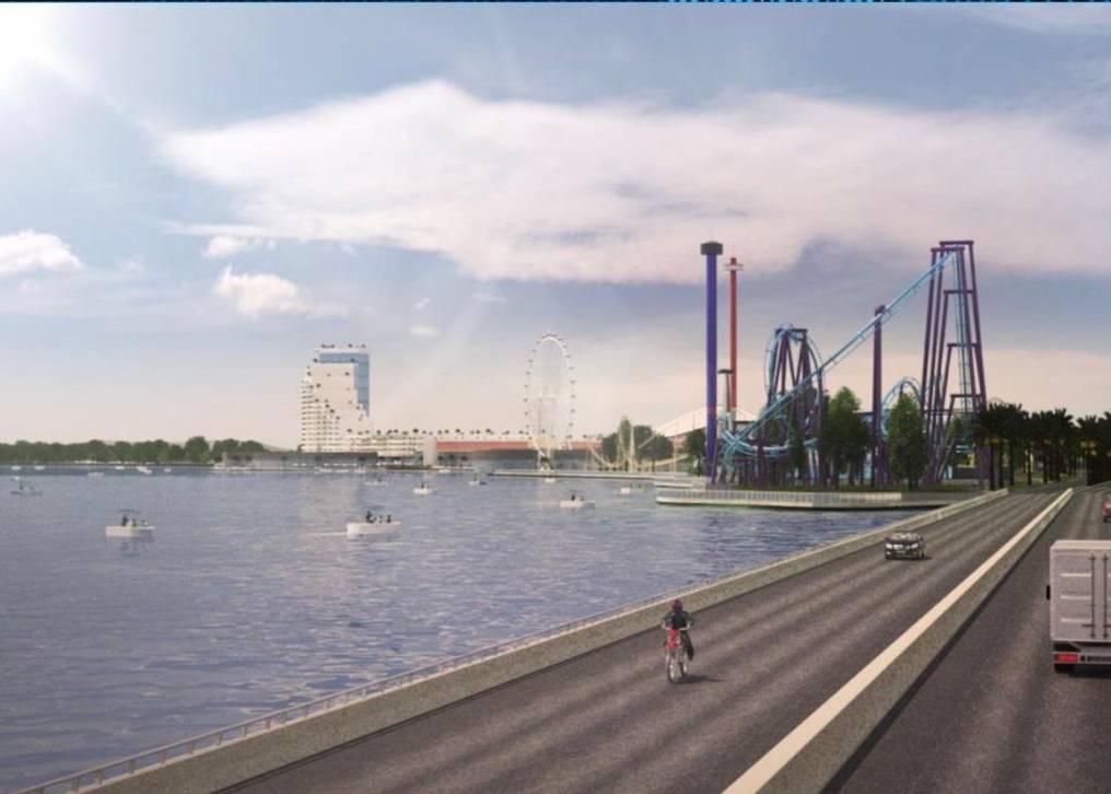 El proyecto incorpora la construcción de un puente que unirá Mariano R. Alonso y la isla San Francisco. Foto: Gentileza.