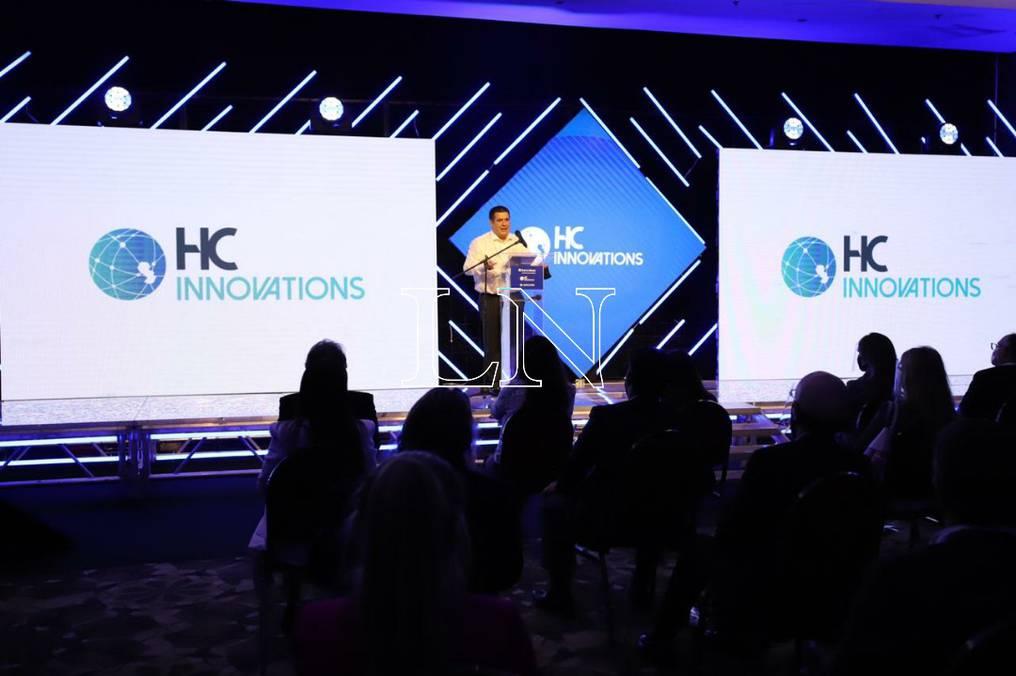 El presidente de HC Innovations dijo que Roque va a representar en todos los eventos a OrCam. Foto: Carlos Juri.