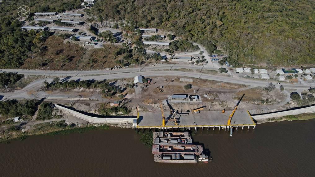 El puerto forma parte del proyecto, ya fue culminado y se encuentra en operación. Foto: Archivo.