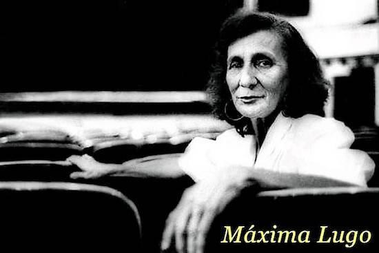Actriz y cantante, Máxima Lugo también incursionó en el género cómico con programas en varias emisoras de radio del país en las décadas pasadas. Foto de Rodolfo Ramos, del archivo de Marlene Sosa Lugo.