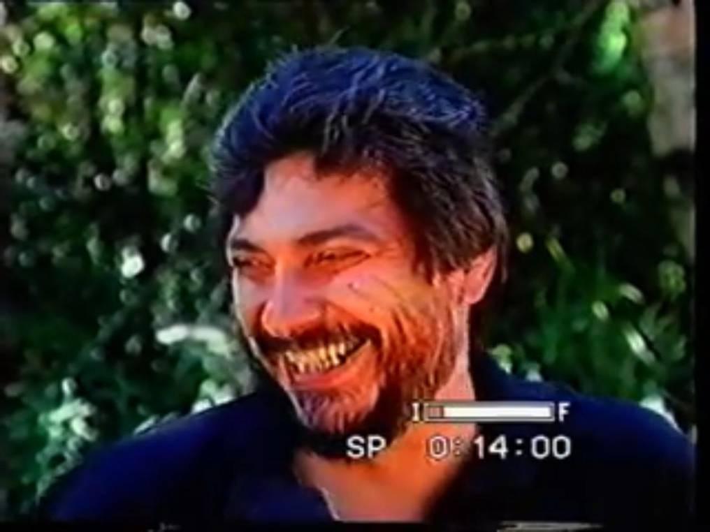 """El actual líder del Frente Guasu, al momento de responderle a Evanhy de Gallegos sobre si los asentamientos ideologizados podrían estar armados. """"Armados de coraje"""", respondió en 1996. Foto: Captura de pantalla."""