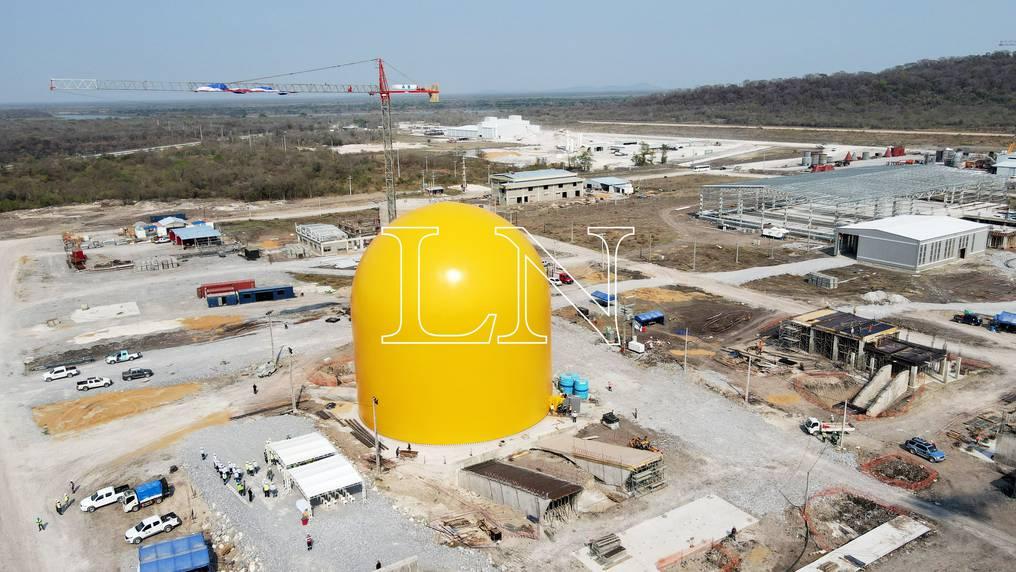 En el domo será almacenado el clínker, materia prima para la elaboración del cemento. Foto: Carlos Juri.