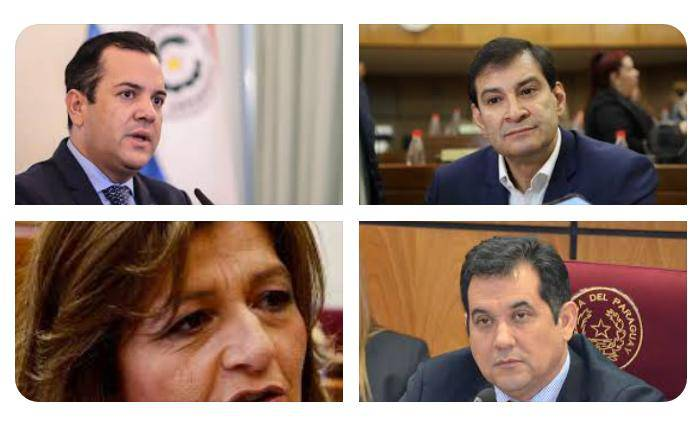 La bancada del movimiento Colorado Añetete, del presidente Mario Abdo Benítez, solo contaría con 4 leales a su línea política. Foto: Gentileza.