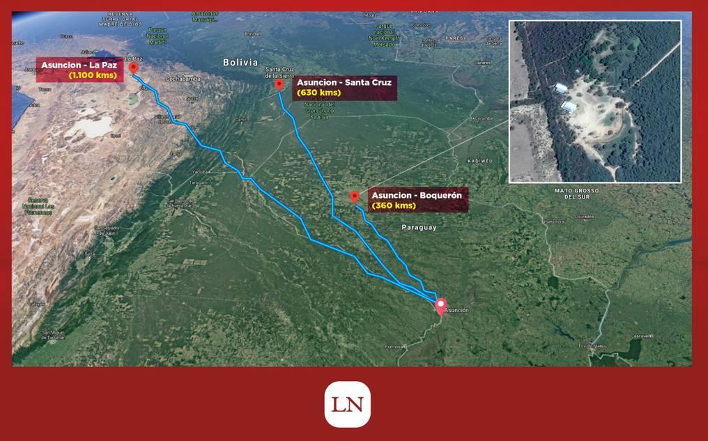 El fortín Boquerón está ubicado el corazón del Chaco Paraguayo. Infografía: Francisco Quiñónez.