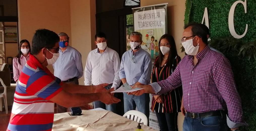 Desde el inicio de la cuarentena, el Crédito Agrícola de Habilitación (CAH) puso a disposición cuatro líneas de créditos para mitigar los efectos de la pandemia del COVID-19. Foto: Gentileza.
