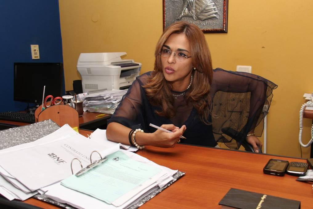 El pedido realizado en el marco de la investigación por estafa y otros delitos que soportan los directivos de Empo fue presentado ante la fiscala Stella Mary Cano. Foto: Gentileza.