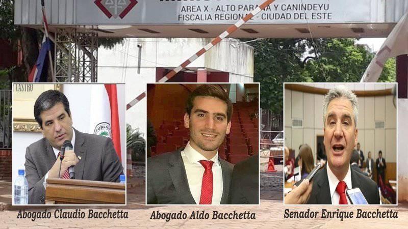 El objetivo de la petición es contar con el apoyo de 1.000 abogados para declarar personas no gratas a los integrantes del clan Bacchetta. Foto: Gentileza.