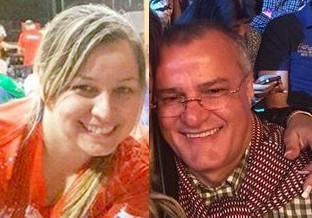 Liz Paola Doldán González y Khalil Ahmad Hijazi, asociados de Kassem, fueron también sancionados por EEUU. Foto: Gentileza.