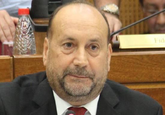 """Óscar """"Cachito"""" Salomón, presidente del Congreso Nacional.FOTO:ARCHIVO"""