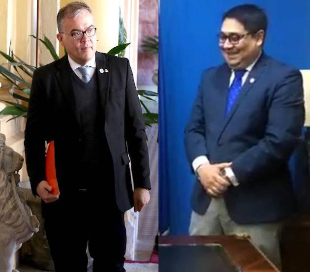 El concejal Julio Ullón dijo que Nakayama representaba un peligro para Asunción, por plantear propuestas que no podría cumplir. Foto: Archivo.