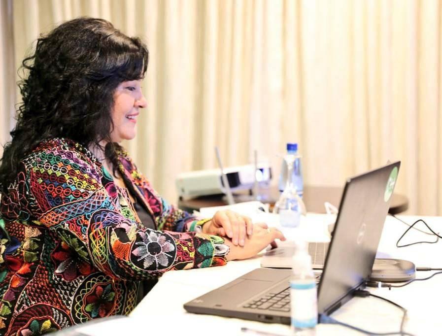 Sofia Montiel de Afara, ministra de Turismo. Foto: Gentileza.