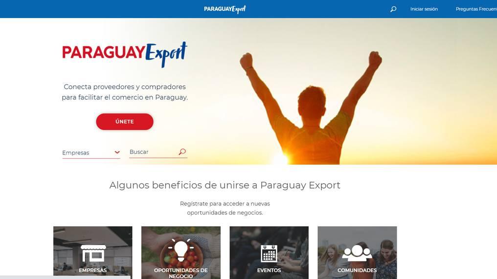 La plataforma ya está disponible para que las empresas puedan registrase y relacionarse con sus pares. Foto: Gentileza.