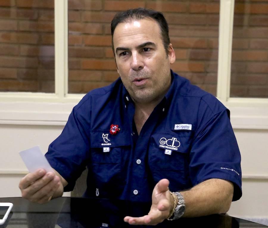 José María Díaz Benza dijo que tiene documentos para destapar la podredumbre que hay en el MOPC.FOTO:ARCHIVO