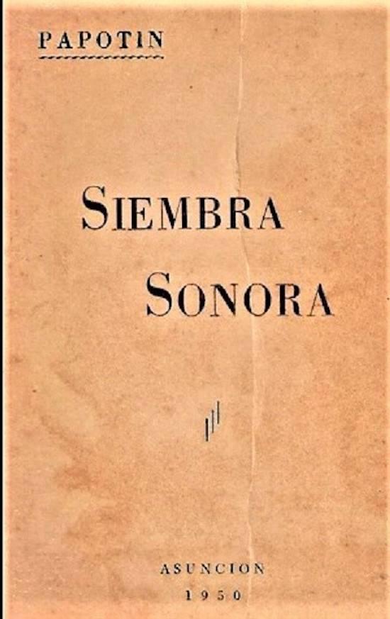 """Poemario de Jesús Amado Recalde, """"Sombra Sonora"""", impreso en Talleres Gráficos Lucania, Buenos Aires, año 1950. Inspirado y prolífico poeta, dio brillo al género literario."""