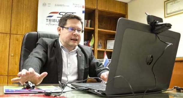 El viceministro de la Subsecretaría de Estado de Tributación (SET) del Ministerio de Hacienda, Óscar Orué.