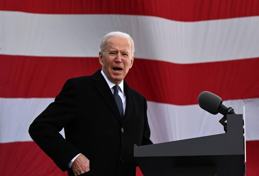 """En su discurso inaugural, Joe Biden (78) expresará su visión para """"vencer la pandemia, reconstruir, unificar y sanar la nación"""". (foto: AFP)"""