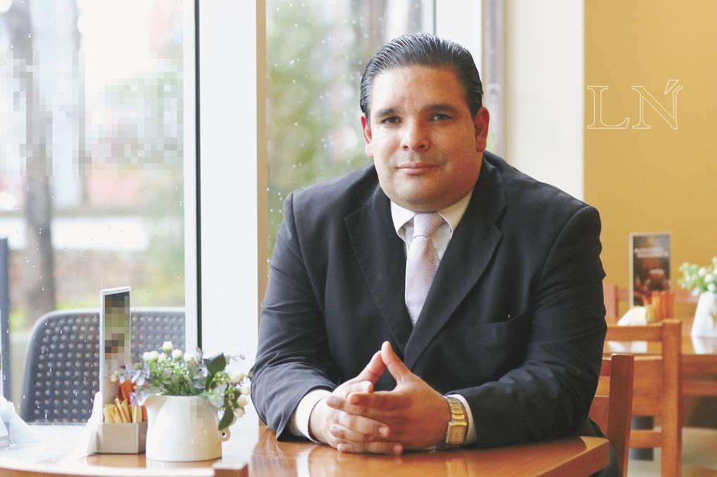 Enrique López Arce, director de la Oficina de Empleos de la ANR. Foto: Archivo.